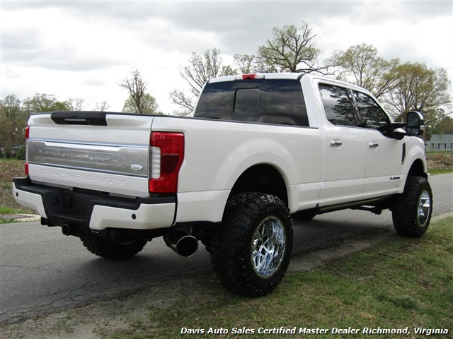 2017 Ford F-350 Super Duty Platinum 6.7 Diesel Lifted 4X4 Crew Cab - Photo 13 - Richmond, VA 23237