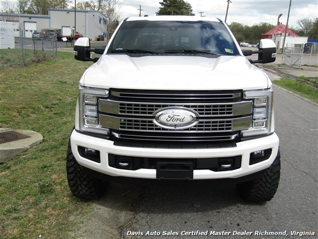 2017 Ford F-350 Super Duty Platinum 6.7 Diesel Lifted 4X4 Crew Cab - Photo 56 - Richmond, VA 23237