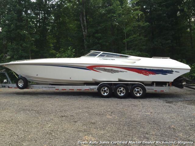 2006 fountain lightning 38 foot performance boat