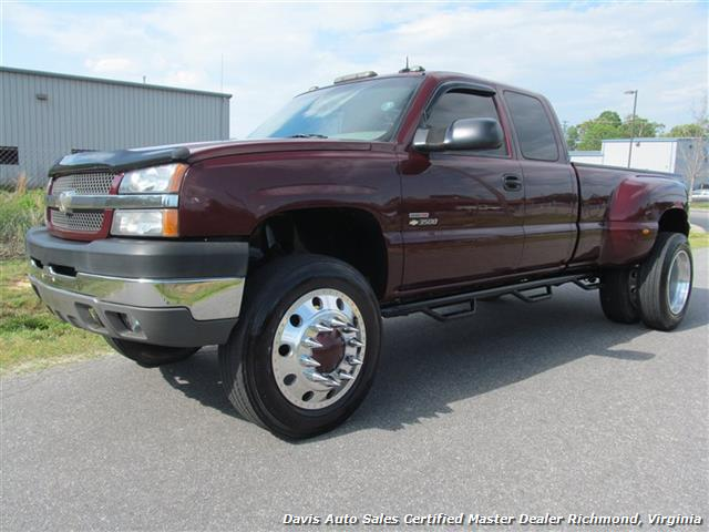 2003 chevrolet silverado 3500 lt 4x4 extended cab long bed dually. Black Bedroom Furniture Sets. Home Design Ideas