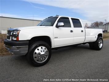 2004 Chevrolet Silverado 3500 LT 4X4 Crew Cab Long Bed Dually Truck