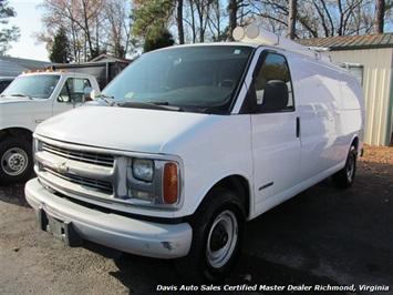 2002 Chevrolet Express 3500 G39 Extended Cargo Van Van
