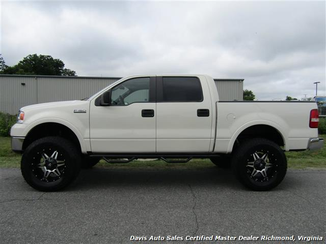 Ford F150 Platinum Lifted >> 2008 Ford F 150 Platinum Pearl White Lariat Lifted 4x4 Crew