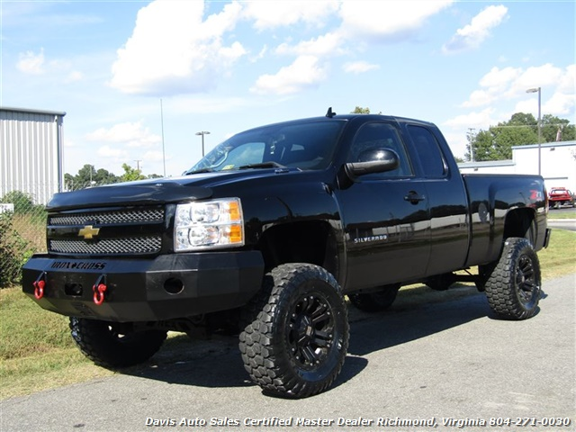 2011 Chevrolet Silverado 1500 Ls Z71 Lifted 4x4 Extended Cab