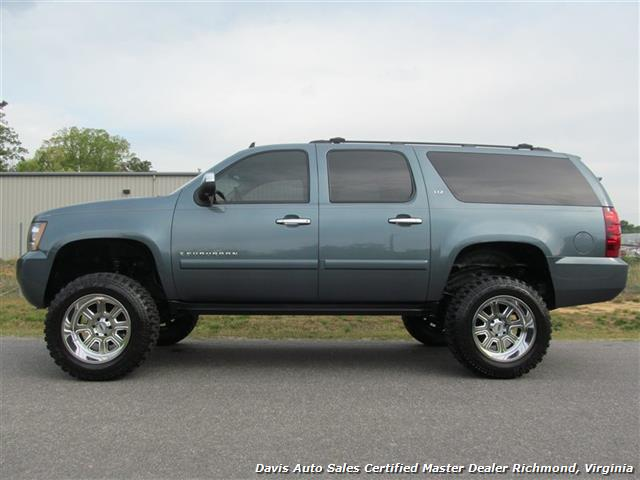 Lifted Suburban For Sale >> 2008 Chevrolet Suburban Ltz 1500 Lifted 4x4