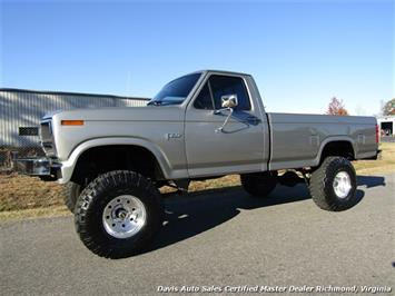 1985 Ford F-150 XL Lifted OBS 4X4 Solid Axle Restored Regular Cab Long Bed Low Miles Truck