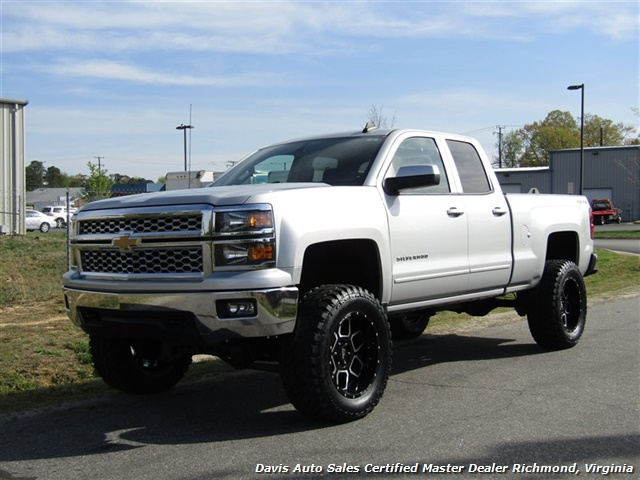 2015 Chevy Silverado Lifted >> 2015 Chevrolet Silverado 1500 Lt Lifted 4x4 Low Mileage Double Cab