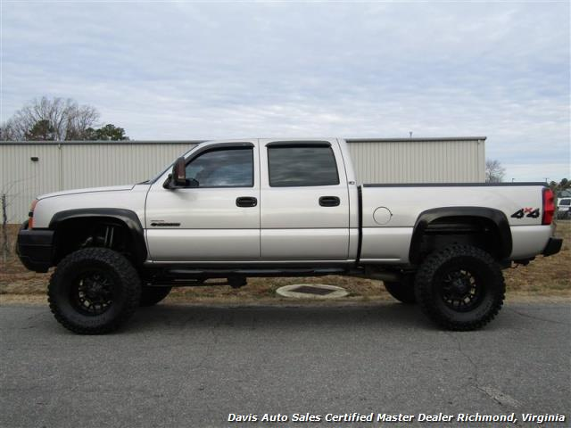 2004 Chevrolet Silverado 2500 HD LS 6.6 Duramax Turbo Diesel Lifted 4X4 Crew Cab - Photo 2 - Richmond, VA 23237