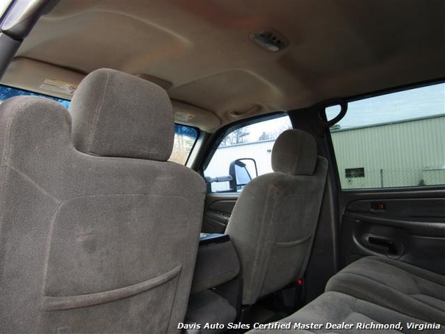 2004 Chevrolet Silverado 2500 HD LS 6.6 Duramax Turbo Diesel Lifted 4X4 Crew Cab - Photo 17 - Richmond, VA 23237