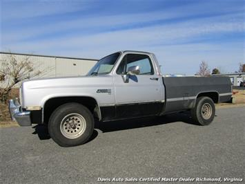 1986 GMC C/K 1500 Sierra Classic Diesel Regular Cab Long Bed Truck