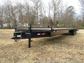 2018 Down 2 Earth Triple Axle 42 Foot Tagalong Car/Equipment Trailer
