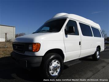 2003 Ford E-350 Super Duty XL High Top Extended Length Wheelchair Handicap Van