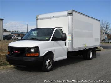 2011 GMC Savanna Cargo Express 3500 Commercial Work 16 Foot Supreme Cube Box Van Van