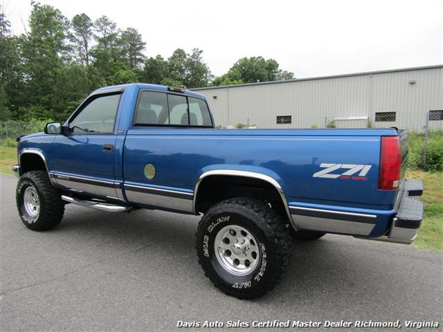 1997 Gmc Sierra 1500 Sle Z71 Off Road Lifted 4x4 Regular Cab Long Bed Photo