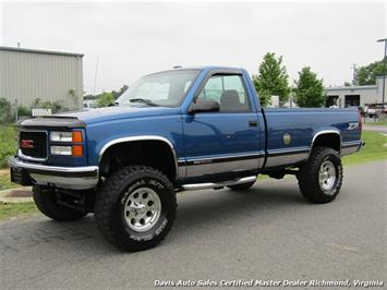 1997 GMC Sierra 1500 SLE Z71 Off Road Lifted 4X4 Regular Cab Long Bed Truck