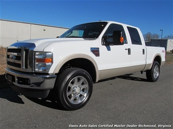 2008 Ford F-250 Super Duty Lariat Crew Cab Short Bed 4X4 Truck