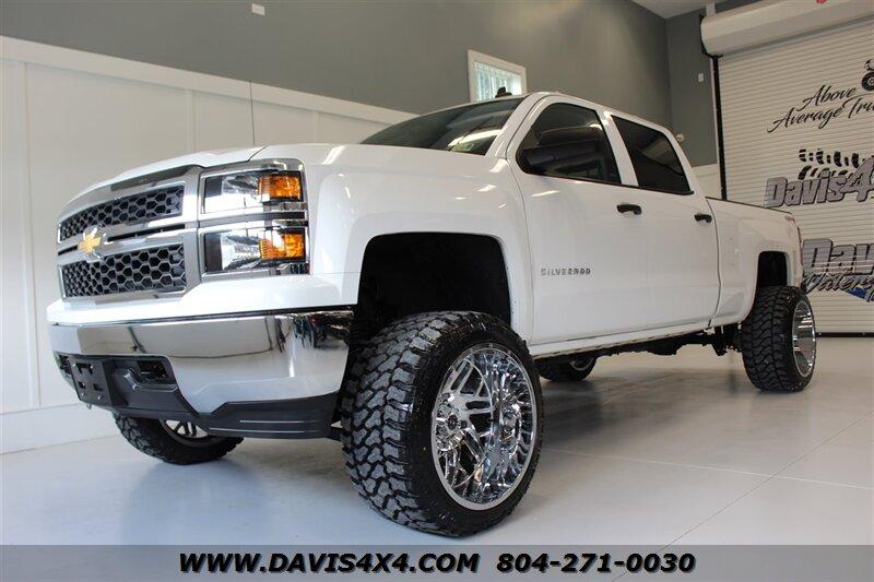 2014 Chevy Silverado Lifted >> 2014 Chevrolet Silverado 1500 Lt Lifted 4x4 Full Crew Cab