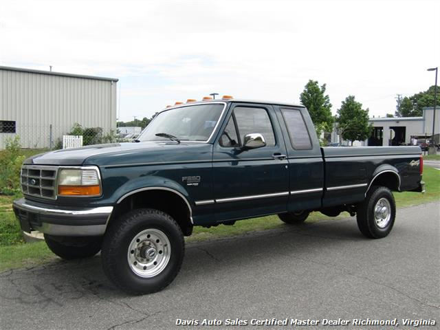 1997 ford f 250 hd heavy duty xlt 7 3 power stroke turbo diesel obs 4x4 long bed. Black Bedroom Furniture Sets. Home Design Ideas