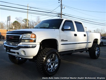 2002 GMC Sierra 2500 HD SLT 6.6 Duramax Turbo Diesel Lifted 4X4 Truck
