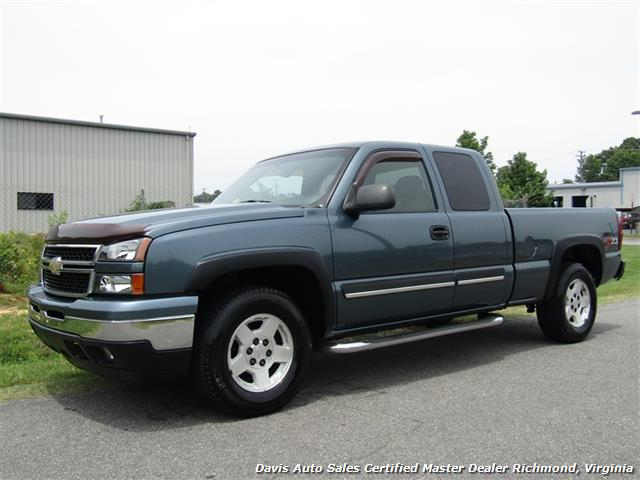 2006 Chevrolet Silverado 1500 Ls Z71 Off Road 4x4 Extended Cab Short Bed