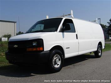 2006 Chevrolet Express 2500 HD Extended Length Super Cargo Work Van