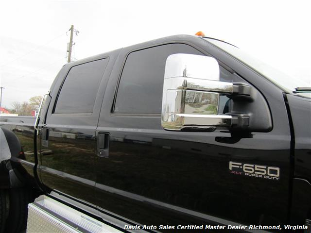2006 Ford F-650 Super Duty XLT CAT Manual Dually Crew Cab Long Bed Hauler Super - Photo 27 - Richmond, VA 23237