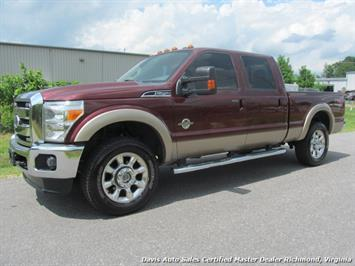 2011 Ford F-250 Super Duty Lariat FX4 4X4 Crew Cab Short Bed Truck
