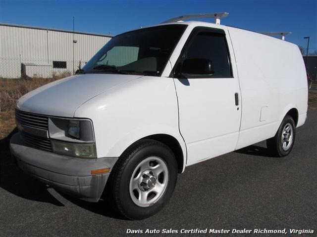2004 Chevrolet Astro Cargo Van Commercial Work