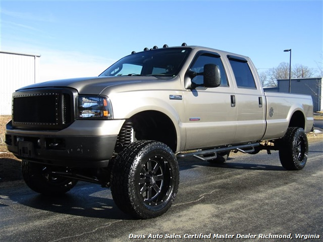 2007 Ford F-350 Super Duty XLT Diesel Lifted 4X4 Crew Cab Long Bed - Photo 1 - Richmond, VA 23237