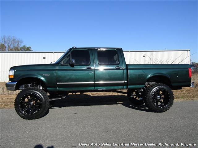 1995 Ford F150 Super Cab >> 1995 Ford F-150 XLT Centurion Conversion OBS Solid Axle Lifted 4X4