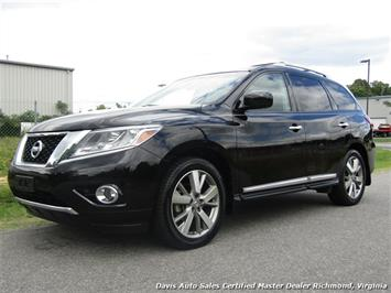 2014 Nissan Pathfinder Platinum Edition Fully Loaded SUV