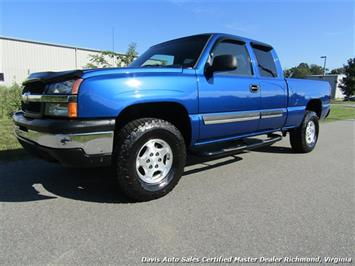 2004 Chevrolet Silverado 1500 LS 4X4 Extended Cab Short Bed Low Mileage Truck