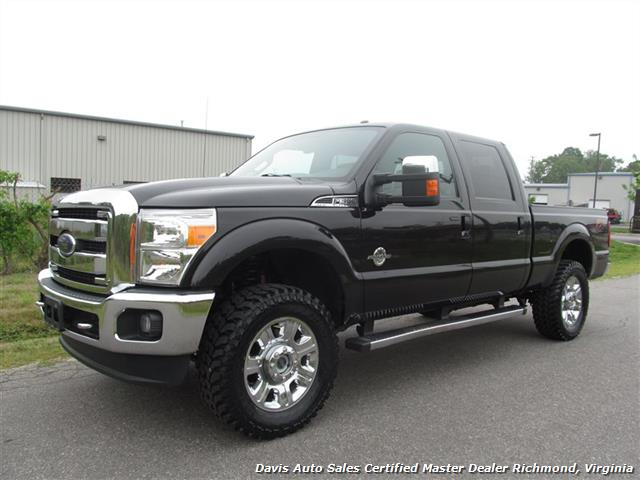 2013 ford f-350 super duty lariat fx4 short bed crew cab