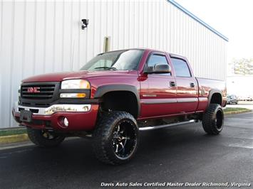 2004 GMC Sierra 2500 HD SLE Lifted 4X4 Crew Cab Short Bed Truck