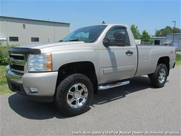 2007 Chevrolet Silverado 1500 LT1 Z71 4X4 Regular Cab Long Bed Truck