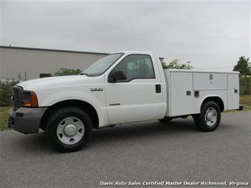 2005 Ford F-250 Super Duty XL Regular Cab Reading Utility Bed Bin Body Work Truck