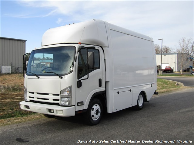 2011 Isuzu NPR Diesel Cab Over Supreme 12 Foot Work Box Van