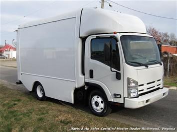 2011 Isuzu NPR Diesel Cab Over Supreme 12 Foot Work Box Van Van