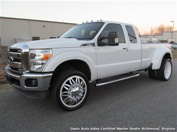 2012 Ford F-350 Super Duty Lariat Dually 4X4 Quad Cab Truck