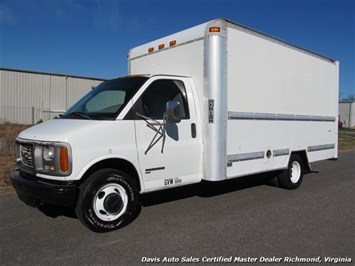 2001 GMC Savanna 3500 Box/Cargo Van Van