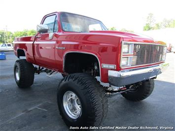 1984 Chevrolet Scottsdale CK 10 Regular Cab Short Bed 2500 Lifted 4x4 HD Conversion Truck
