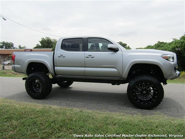 2016 toyota tacoma trd sport lifted 4x4 v6 double crew cab short bed. Black Bedroom Furniture Sets. Home Design Ideas