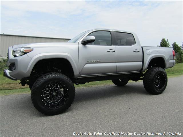 2016 Toyota Tacoma Lifted >> 2016 Toyota Tacoma Trd Sport Lifted 4x4 V6 Double Crew Cab Short Bed