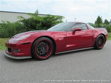 2008 Chevrolet Corvette Z06 427 Wil Cooksey Limited Edition Supercharged Coupe