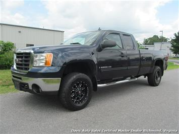2007 GMC Sierra 2500 HD SLE1 4X4 Quad Cab Long Bed Truck