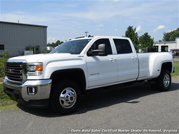 2015 GMC Sierra 3500 HD 6.6 Duramax Diesel 4X4 Dually Crew Cab Loaded Truck