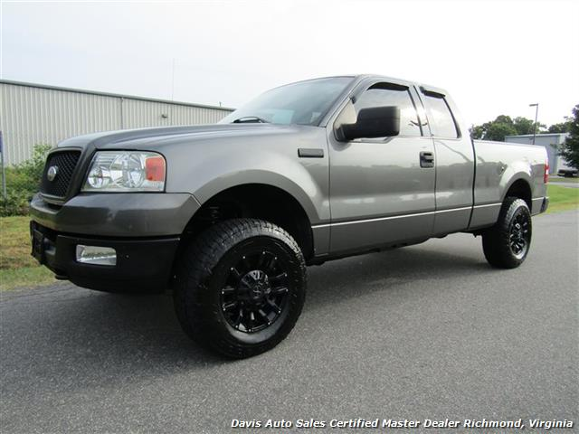 2004 ford f-150 xlt lifted 4x4 supercab short bed