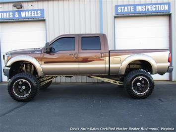 2011 Ford F-250 Super Duty Lariat 6.7 Diesel Lifted 4X4 Crew Cab - Photo 37 - Richmond, VA 23237