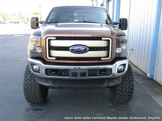2011 Ford F-250 Super Duty Lariat 6.7 Diesel Lifted 4X4 Crew Cab - Photo 40 - Richmond, VA 23237