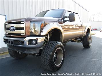 2011 Ford F-250 Super Duty Lariat 6.7 Diesel Lifted 4X4 Crew Cab - Photo 1 - Richmond, VA 23237